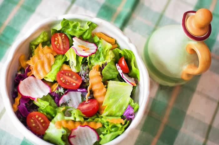 Coupe-faim naturel: Salade