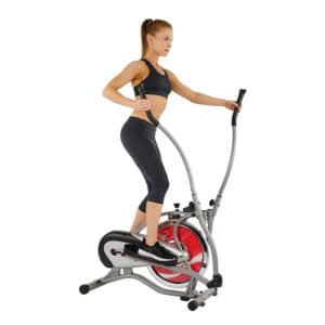 Elliptique Flywheel gris de Sunny Health & Fitness SF-E1405 – Petit budget