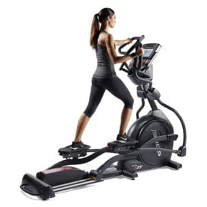 Elliptique à inclinaison motorisée (Power Incline) de SOLE Fitness – Haut de gamme